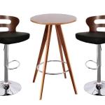 เซทโต๊ะบาร์ ดีไซน์สวย สำหรับแต่งร้านกาแฟ ผับบาร์ โรงแรม (RI-SET)