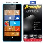 Tronta ฟิล์มกระจกนิรภัย ฟิล์มกันรอยมือถือ Microsoft Lumia 540 ไมโครซอฟท์ ลูเมีย