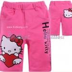กางเกงเด็กKitty สีชมพูเข้ม ไซส์ 130