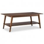 โต๊ะไม้จริงพร้อมชั้นวางของด้านล่าง ดีไซน์สวย (รับสั่งทำตามขนาด)
