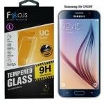 Focus ฟิล์มกระจกนิรภัยกันกระแทก Samsung Galaxy S6 (G920F) ซัมซุงการแล็คซี่เอส6