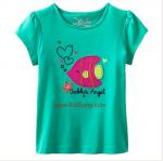เสื้อเด็กเนื้อนิ่ม ลายFish ไซส์ 4,5 ปี