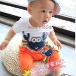 ชุดเด็กปู1(เซท) ไซส์ 3ปี (เสื้อเด็ก+กางเกงเด็ก)