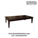 โต๊ะญี่ปุ่น 90x150xh40 ซม.สีโอ๊ค (รับสั่งทำตามขนาด)