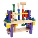 ของเล่นไม้ชุดโต๊ะเครื่องมือช่าง