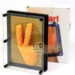 ของเล่นเสริมพัฒนาการ กรอบรูปพินสามมิติ Pin Art 3D สีส้ม