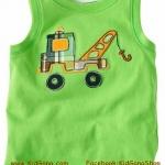 เสื้อกล้ามเด็ก ลาย Truck4 ไซส์ 4ปี