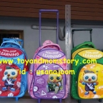 กระเป๋าล้อลากเอนฟา กระเป๋าแบคแพ็ค เพื่อการเรียนรู้ไม่มีที่สิ้นสุด non-stop learning trolley backpack