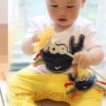 ชุดเด็กปู3(เซท) ไซส์ 2ปี (เสื้อเด็ก+กางเกงเด็ก)