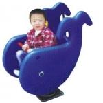 โยกเยกสปริงปลาวาฬ SIZE:38X90X83 cm.