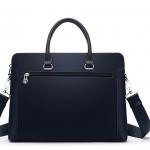 กระเป๋าสะพายนักธุรกิจพีวีซี สะพาย Playboy-Blue