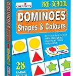 Creative's ของเล่นเสริมทักษะ ชุด Creative's Shapes and Colours Dominoes