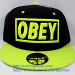[259 บาทส่งฟรี] หมวก OBEY - ดำ , เขียว(สะท้อนแสง)