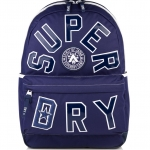Superdry - Leauge Montana Backpack - สีน้ำเงิน