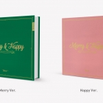[Pre] TWICE : 1st Album Repackage - Merry & Happy (Random Ver.) +Poster