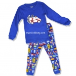 ชุดนอนเด็ก GCP_BABY ลาย รถพยาบาล ไซส์ 2ปี