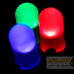LED ขนาด 5 มิล ชนิดตัวสี 15 องศา (ถุงละ 100 ตัว)