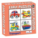 Creative Educational Aids Early Puzzles - Transport