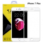Diamond ฟิล์มกระจก iPhone 7 Plus ไอโฟน7พลัส แบบเต็มจอ สีขาว