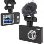 """กล้องติดรถยนต์ ขนาดจอกว้าง 2.4 """" ภาพมุมกว้า 120 องศา รุ่น H828 สีดำ"""