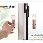 GK392 อุปกรณ์ใช้จับเปิด-ปิดตู้ ใช้กับตู้ประบานประตูที่ไม่มีที่จับ ขนาด ยาว 10.5*กว้าง 3 ซม. 1 แพคมี 2 ชิ้น ติดด้วยกาวสองหน้า