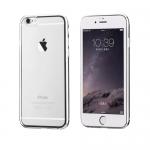 เคสไอโฟน 6/6S เคสโทรศัพท์มือถือ แบบ TPU ขอบ Silver ยี่ห้อ hoco