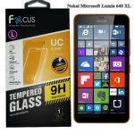 Focus โฟกัส ฟิล์มกันรอยมือถือ ฟิล์มกระจก โนเกีย ลูเมีย Nokia Lumia 640 XL