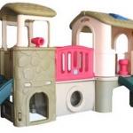 บ้านน้อย 2 ชั้น สีคลาสสิค (ยี่ห้อ LERADO) SIZE:178X302X174 cm