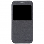 Nillkin เคสฝาพับโชว์หน้าจอเคสฝาพับ Samsung S6 (สีดำ) วัสดุเกรดพรีเมี่ยม สไตล์หรูหรา
