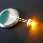 LED 4.8 มิล ชนิดซุปเปอร์ไบร้ท์ (สีส้ม)