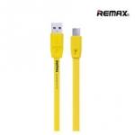 Remax สายชาร์จ Full Speed Series สำหรับ Android สีเหลือง