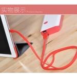 สายชาร์จโทรศัพท์มือถือ Remax Cable Charger Full Speed สำหรับ Andriod สีแดง - ชาร์จเร็วชาร็จเต็มได้ไว