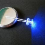 LED ขนาด 4.8 มิล ชนิดซุปเปอร์ไบร้ท์ (สีน้ำเงิน)