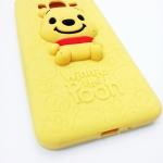 เคส Samsung A7 เคสซัมซุงเอ7 เคสซัมซุงA7 เคสแบบฝาหลังซิลิโคน ลายหมีพูห์ น่ารัก