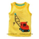เสื้อกล้ามเด็ก ลาย Truck5 ไซส 5ปี