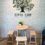 เซทโต๊ะกลม+เก้าอี้สตูล สไตล์ญี่ปุ่น (ZANI-SET)