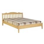 เตียงนอนไม้ 3.5 ฟุต สไตล์โมเดิร์น สำหรับคอนโด โรงแรม (MI-SERIES)
