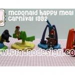 ย้อนอดีตของสะสมวันวาน : McDonald Happy Meal Canival ออกปี 1992