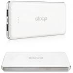 Power Bank Eloop E13 13000 mAh สีขาว พาวเวอร์แบงค์