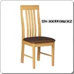 เก้าอี้ไม้ ดีไซน์สวย พนักพิงสูง นั่งสบาย สำหรับร้านอาหาร (AZ-COLLECTION)