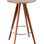โต๊ะบาร์กลม 60xh105 ซม.สำหรับแต่งร้านกาแฟ (JD-BAR)