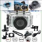 กล้องติดหมวก กล้องถ่าย VDO กันน้ำ รุ่นMini Action Camcorder HD 720P