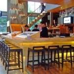 เก้าอี้สตูลบาร์ไม้ ดีไซน์สวย สำหรับร้านอาหาร ร้านกาแฟ โรงแรม