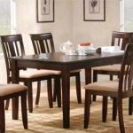 ชุดโต๊ะอาหารพร้อมเก้าอี้ ดีไซน์สวย สไตล์โมเดิร์น (TD-COLLECTION)