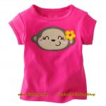 เสื้อเด็กเนื้อนิ่ม ลาย Smile ไซส์ 2,6 ปี