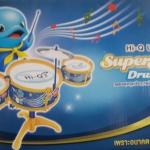 Hi-Q UHT superstar drum set ไฮคิว กลองชุดจุกประกายฝัน ซุปเปอร์สตาร์