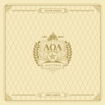 [Pre] AOA : 1st Album - ANGEL'S KNOCK (A Ver.) +Poster