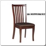 เก้าอี้ไม้ ที่นั่งกว้าง นั่งสบาย สำหรับร้านอาหาร โรงแรม (FT-COLLECTION)