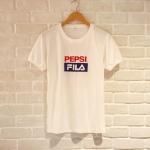 เสื้อยืดงานสกรีน PEPSI FILA งานเกาหลี t-shirt ค่ะ เนื้อผ้าดีมาก ใส่สบายๆหลวมๆ แมตซ์กับอะไรก็น่ารักแบบสาวเกาหลีค่ะ