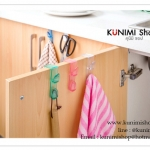 GK268 ตะขอที่แขวนสิ่งของอเนกประสงค์ เช่น แขวนของใช้ในครัว ของใช้ในห้องน้ำ สามารถนำไปเกี่ยวได้ที่ขอบประตู ขอบตู้